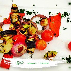 Legume la grătar cu ierburi aromate (300g)