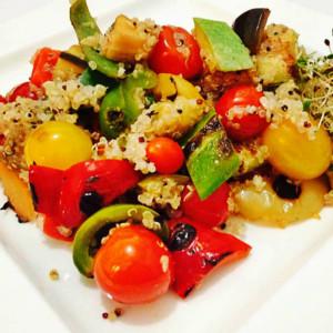 Quinoa cu legume provensale