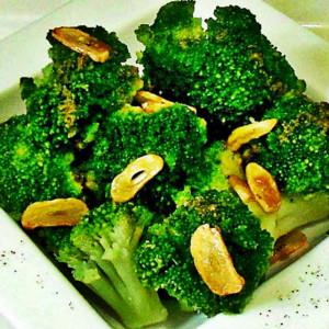 broccoli cu sos de soia si ghimbir