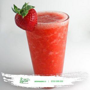 Limonadă cu lamai BIO si căpșuni (350ml)