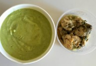 Pui cu piure de broccoli aroma zen