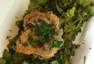 Pui cu salată verde aromazen