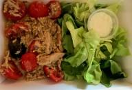 Salată cu ton şi muştar aromat aromazen