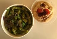 fasole verde cu hummus aroma zen