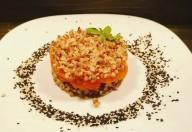Salată de hrișcă aromată cu mărar și fulgi de drojdie inactivă