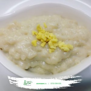 Budincă de tapioca cu ghimbir si lapte vegetal (de post) - 260 gr