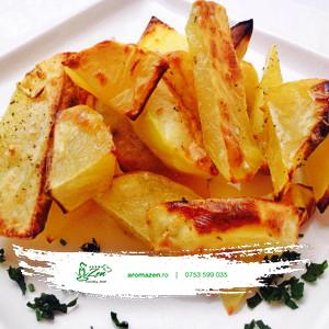 Cartofi wedges la cuptor (300 gr)