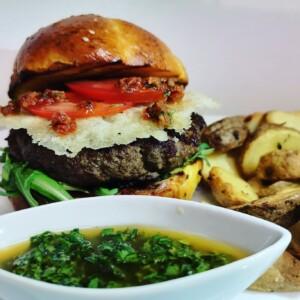 burger mediteranian