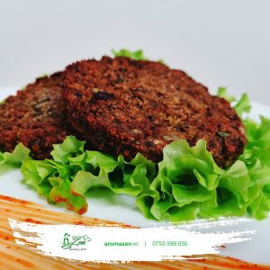 Patty de Quinoa cu sfeclă roșie (160gr)
